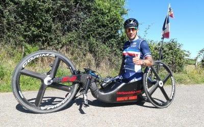 Entretien avec Loic Vergnaud, champion de Handbike