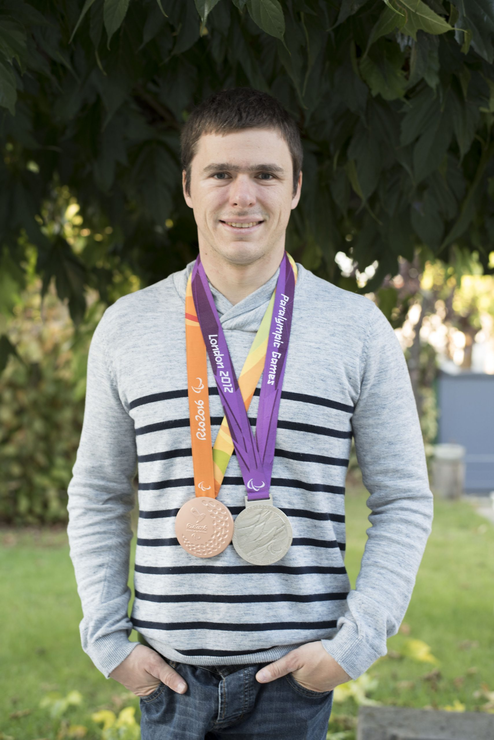 Ludovic Lemoine, champion d'escrime handisport